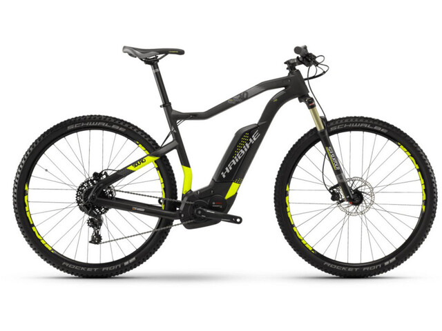 HAIBIKE SDURO HardNine Carbon 8.0 E-mountainbike sort | MTB
